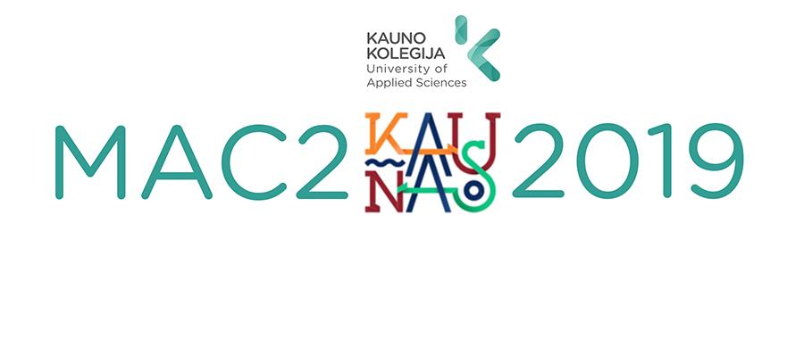 "Starptautiskais projekts ""MAC2KAUNAS 2019"