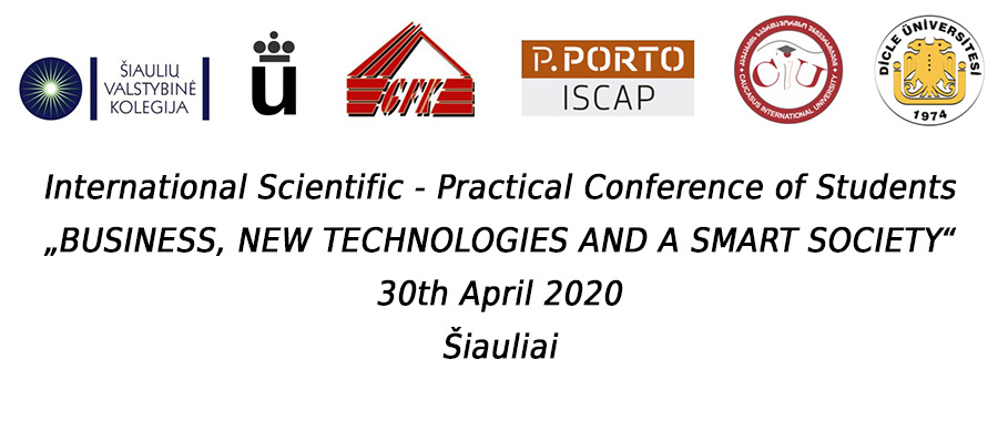 "The International Scientific-Practical Conference of Students ""Business, New Technologies and a Smart Society"""